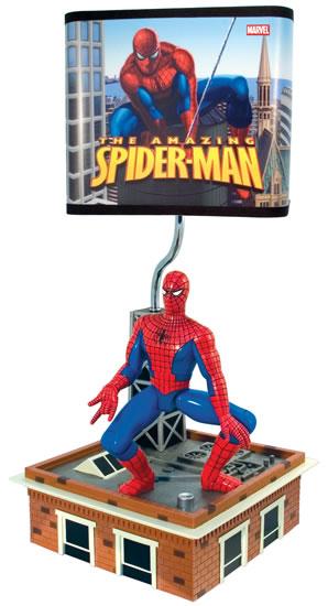 000872 SPIDERMAN L ANIMATED LAMP